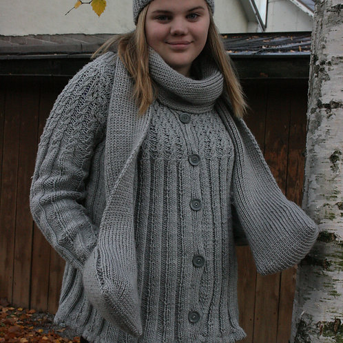 Cardigan, knitted