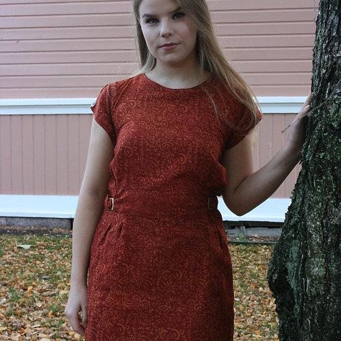 Tunika dress,naturally dyed