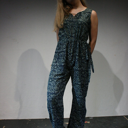 Jumpsuit, naturally dyed