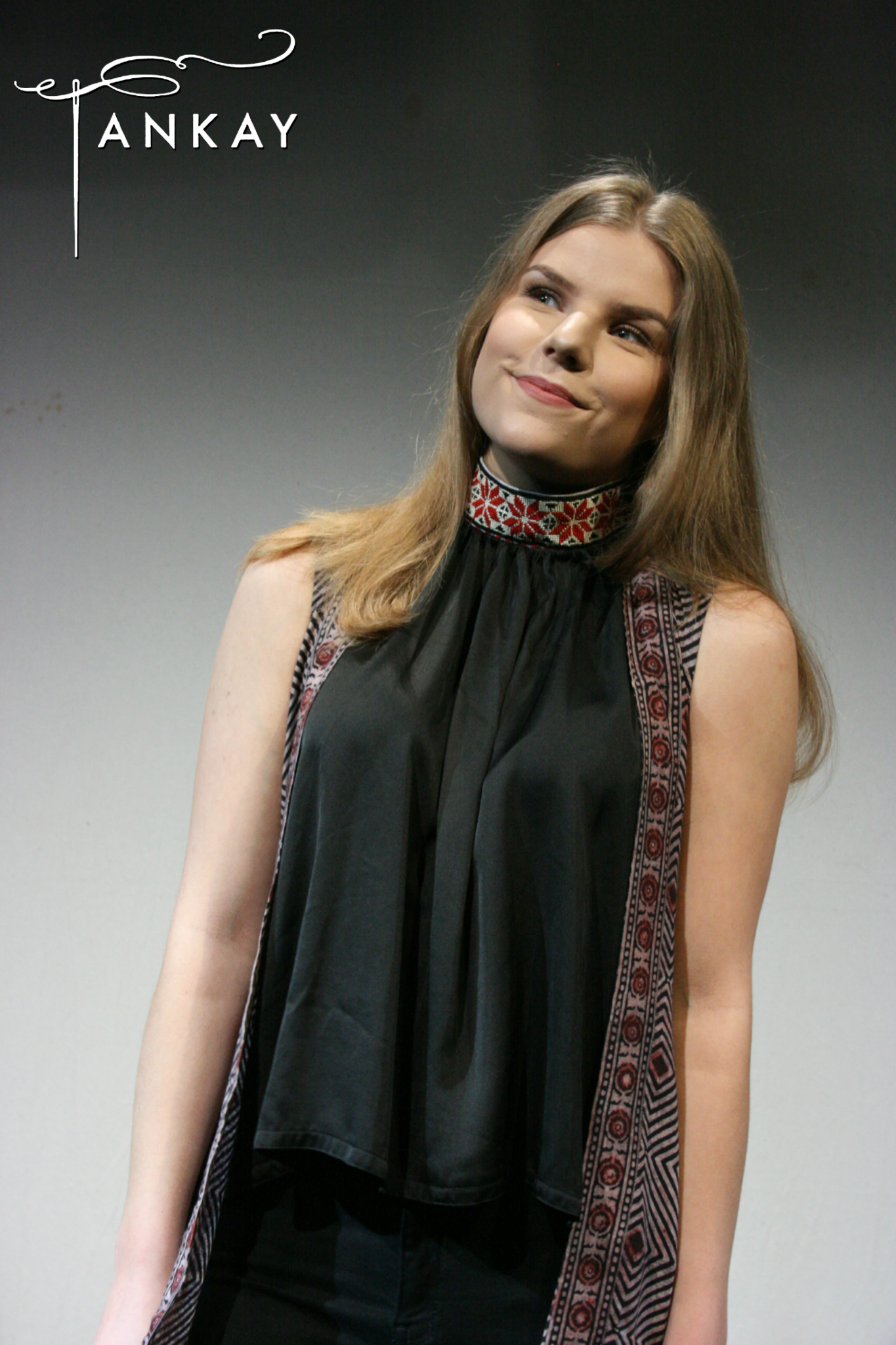 Cape, naturally dyed