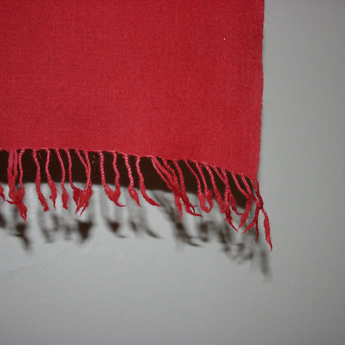 Scarf,dark red