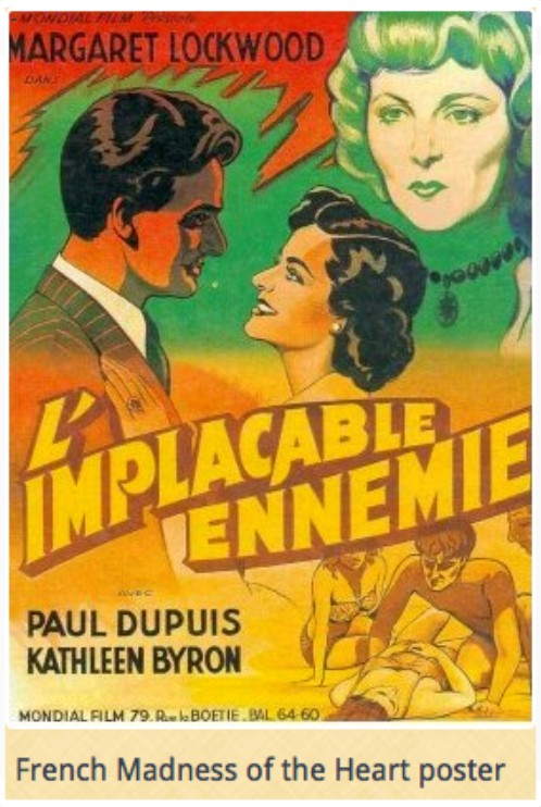 L'implacable ennemie 1949 (madness of the heart)