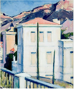 Cadell 1924White house vue du panorama.j