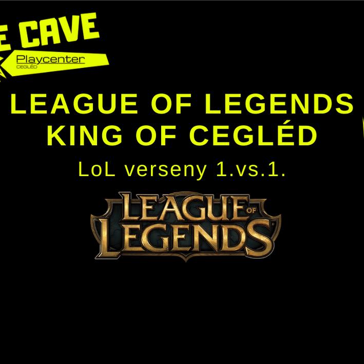 League of Legends King of Cegléd | LoL Race 1vs1