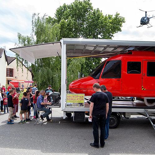 helikopter szimulátor rendezvényre
