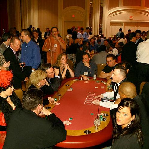 póker asztal bérlés
