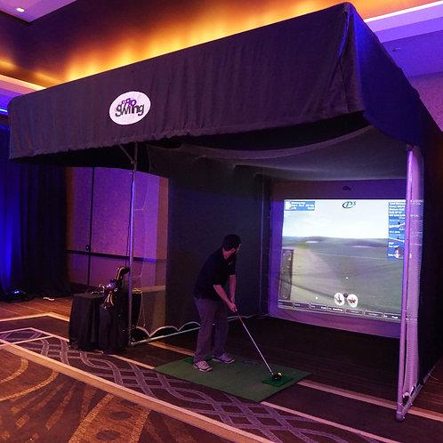 golf szimulátor rendezvényekre