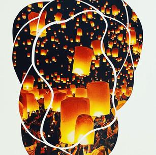 Paper Lantern Twilight Scissor Meditation, 2021