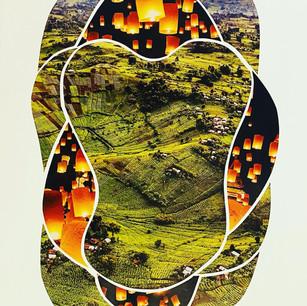 Grassland & Paper Lantern Scissor Meditation, 2021