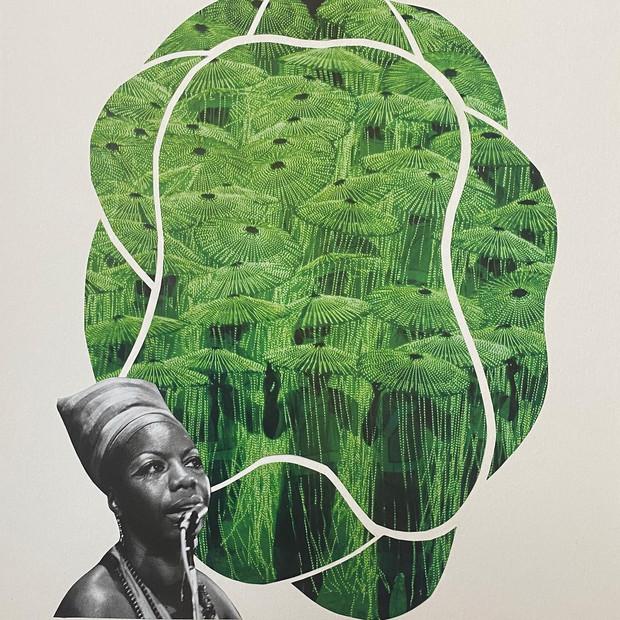 Green Simone, 2020.