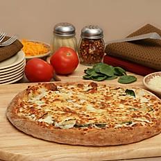 Spinach Havarti Artichoke Pizza