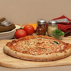 4 Cheese Spinach Tomato Pizza