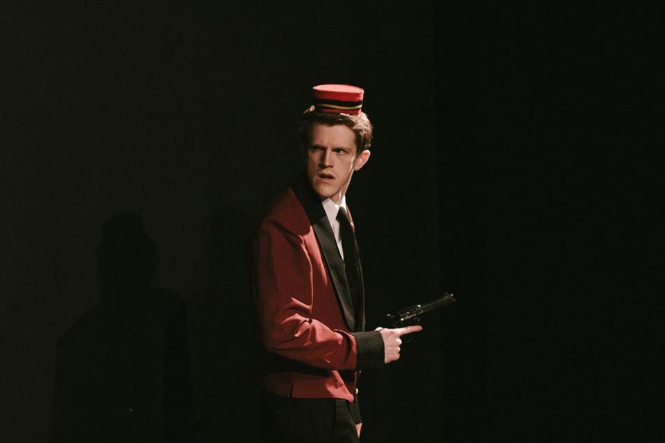 "(Blaine Curry playing in ""Murder by Midnight"") [Photo credit: Jesse Schroeder]"