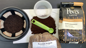 How to Use Spent Coffee Grounds for Planting Nutritious Microgreens