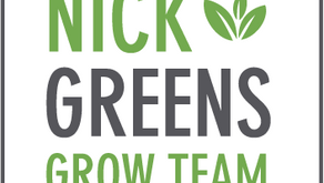Welcome to the Nick Greens Grow Team