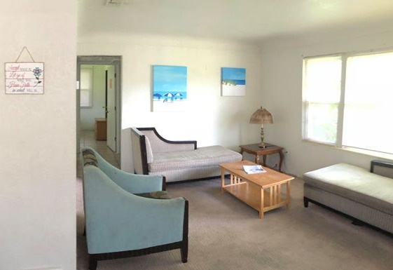 Living room, Transitional Housing