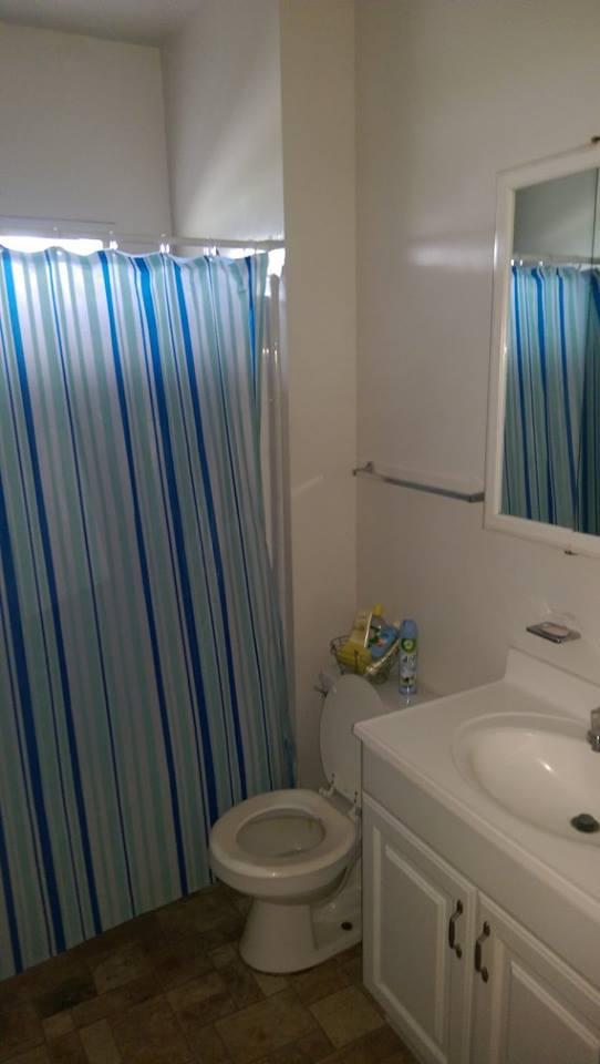 Sober Housing Bathroom