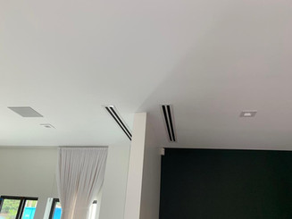 Linear Diffusers installation