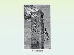 Tarocchi psicomagici: la Torre. Lasciati precipitare.