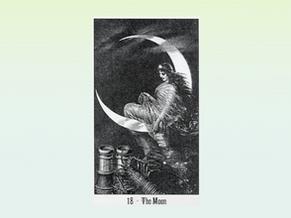 Tarocchi psicomagici: la Luna. Di luce riflessa.