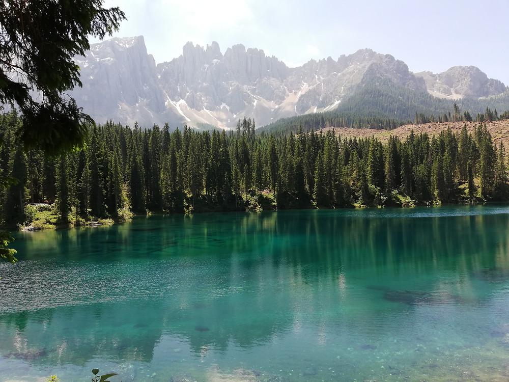 Lago di Carezza - foto di SuperNatural con Gaia