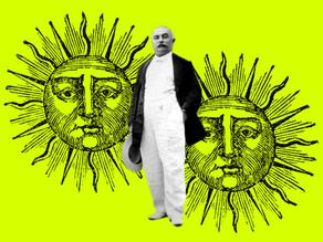 """""""Pagamento in oro alchemico"""", una lettera dell'esoterista italiano Giuliano Kremmerz"""