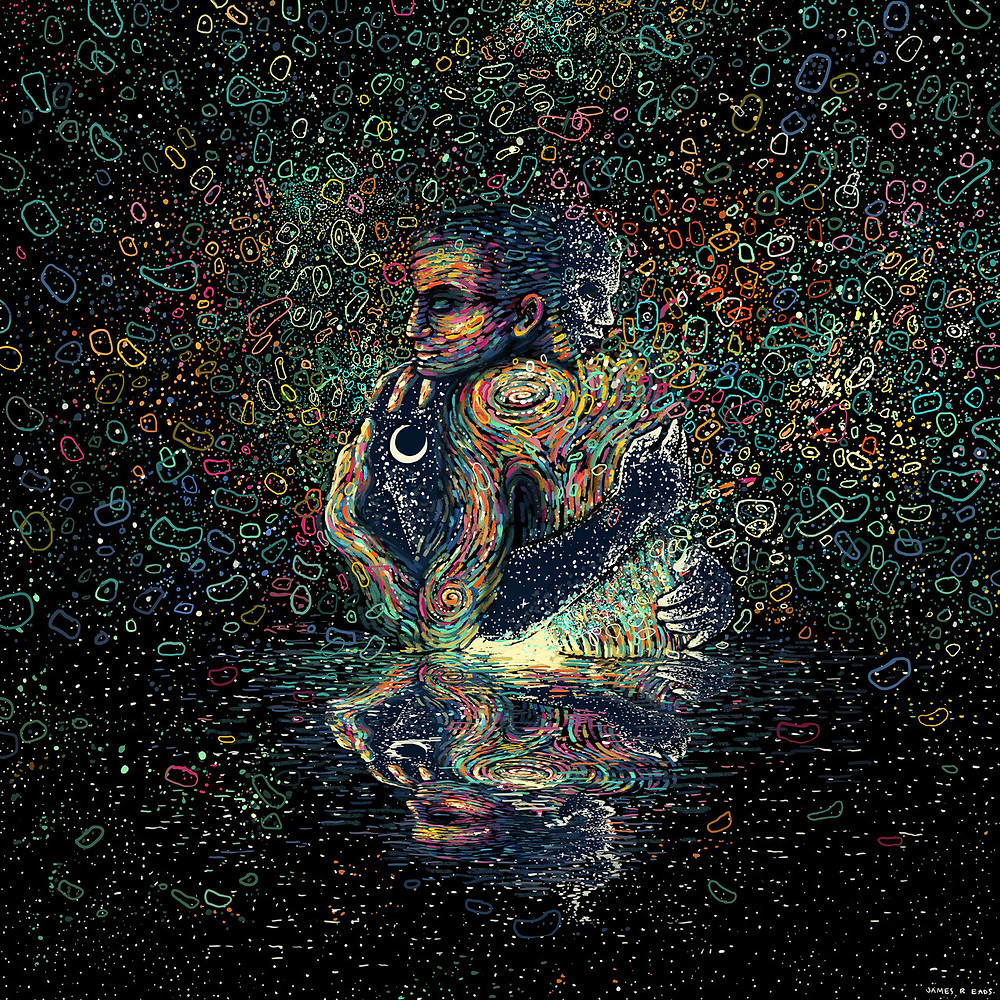 Credit photo - Artwork by James R. Eads