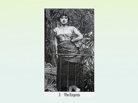 Tarocchi psicomagici: l'Imperatrice. Creatività, forza vitale