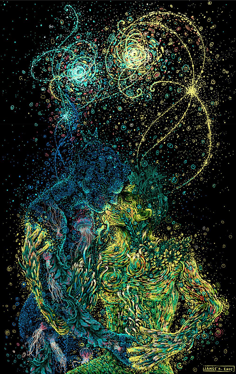 James R. Eads Tutt'Art -Twin Flames