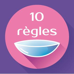 Hygiène en lentilles : Les 10 règles