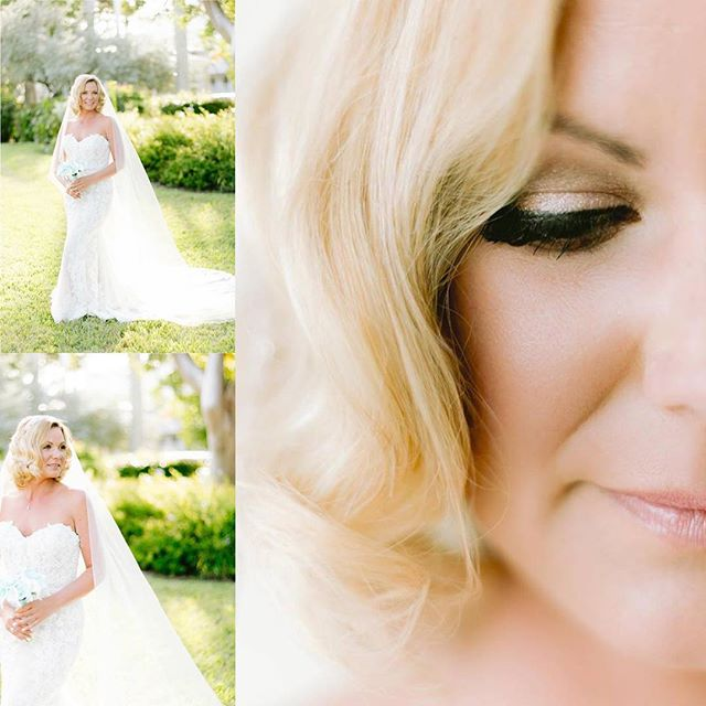 kris wedding day hair and makeup  #flori
