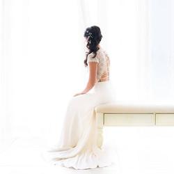 My beautiful bride Anne at #keylargoligh