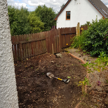 Ground Preperation For Decking