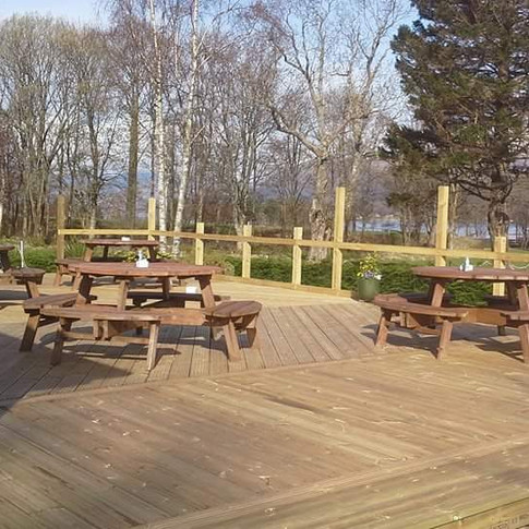 Commercial Decking Install