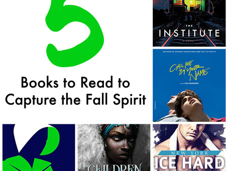 5 Books to Read to Capture the Fall Spirit