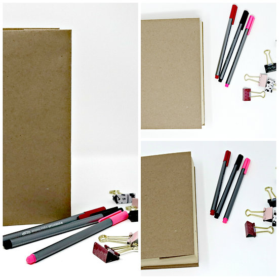 Paperback Book with Binder Clips Lifestyle Set (Non-Exclusive License)
