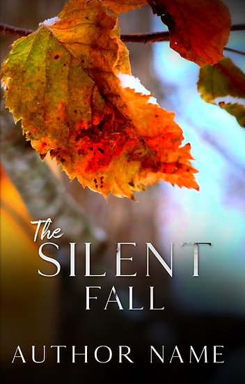 The Silent Fall - Pre Made Cover