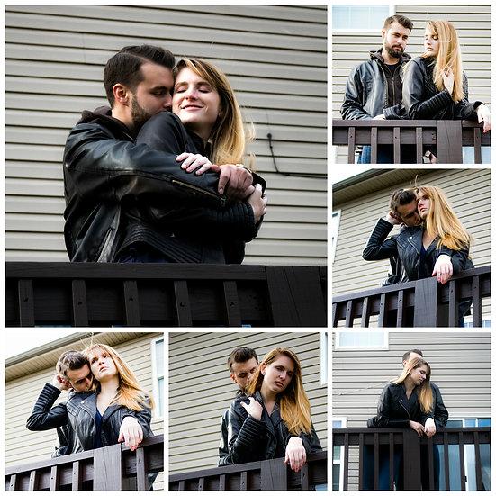 Matt and Kristina in love | Location: outside deck