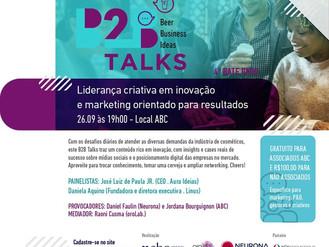 Linus RH presente na 4ª edição do B2B Talks