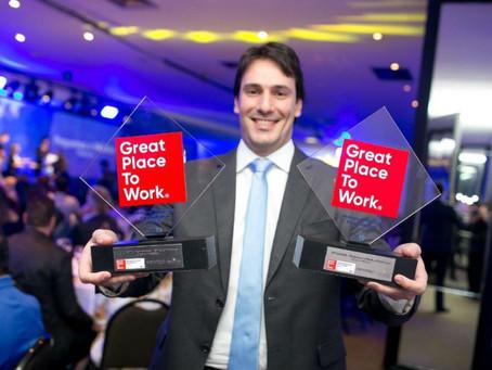 GSRD é eleito como uma das melhores empresas para trabalhar pelo ranking GPTW