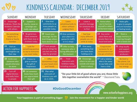 Kindness Calendar