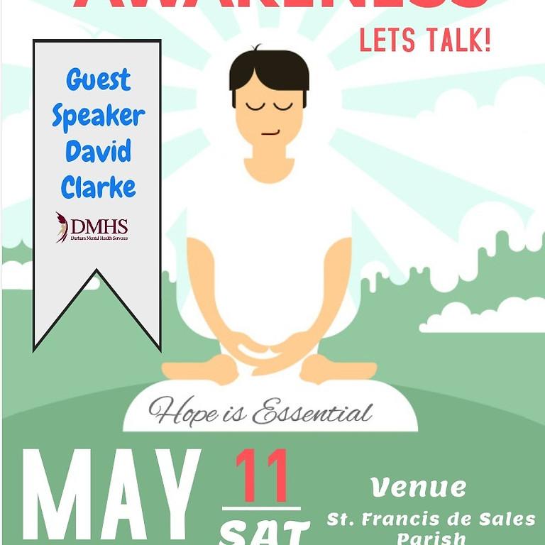 Mental Health Awareness. Let's Talk!