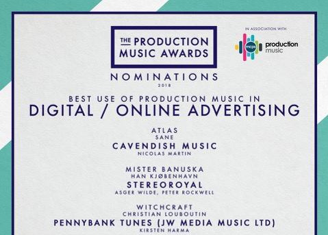 the production music awards - Nomination