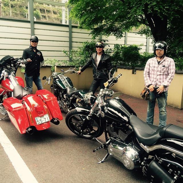 Instagram - ご来店ありがとうございました!  #twincam 速そー。 皆さんバイクがピカピカでした。  #うなぎ#鰻 #ツーリング #harle