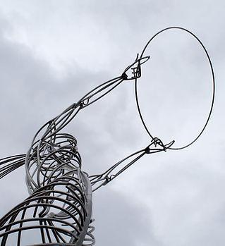 Círculo de la escultura