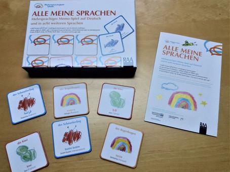 """""""Alle meine Sprachen"""" - unser mehrsprachiges Memo-Spiel"""