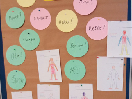 """Workshop mit Kindern """"Alle meine Sprachen"""""""