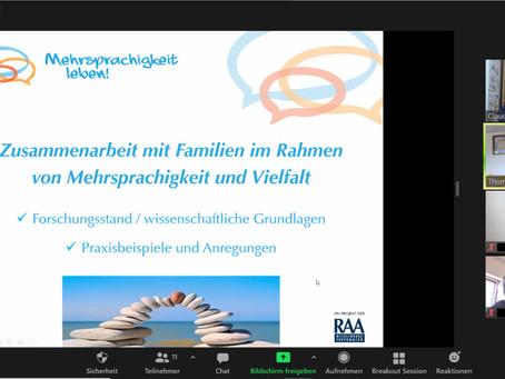 Zusammenarbeit mit Familien im Rahmen von Mehrsprachigkeit und Vielfalt