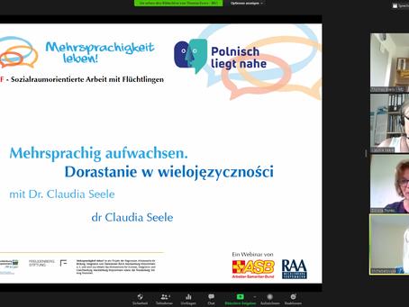 Online-Seminarreihe zum mehrsprachigen Aufwachsen erfolgreich beendet