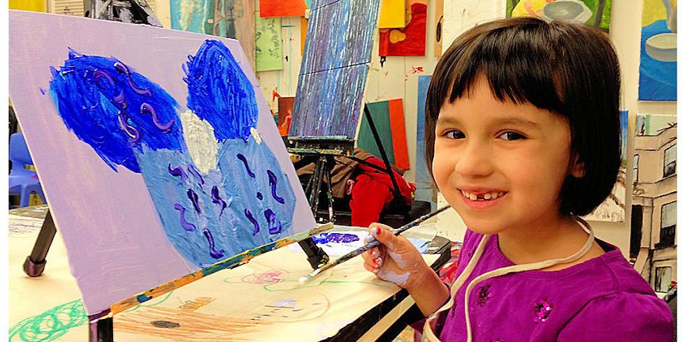 Cyber Kids Paint Class (6+)